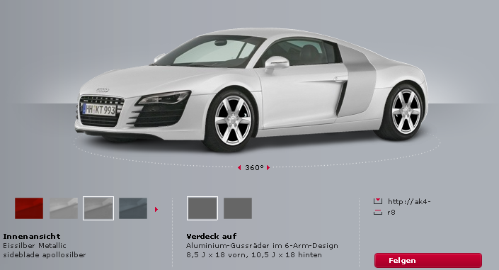 Audi Konfigurator Mach Parat