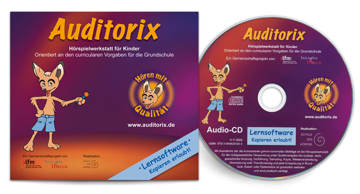 Cover und CD-Rom