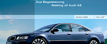 Making of Audi A8