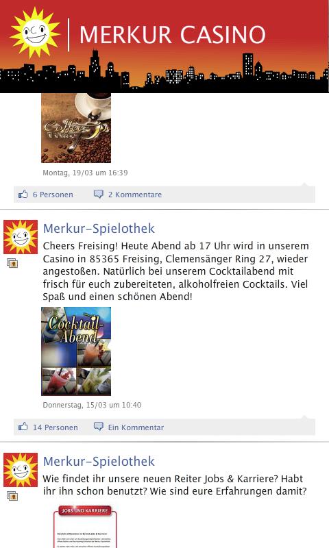 Merkur Spielothek Jobs